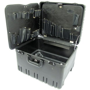 Jensen Tools 377B911 Roto-Rugged™ Wheeled Case w/ Pallets Only