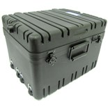 "Jensen Tools Roto-Rugged™ wheeled case 12"" deep"
