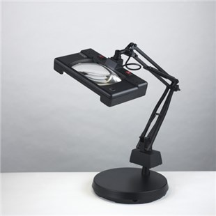 Electrix Widex Illuminated Magnifier, Weighted-base