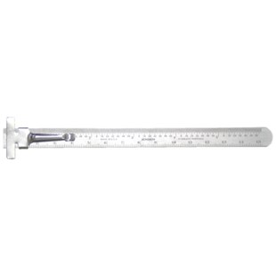 "General 300MEJENLOGO General Tools Rule Flex ible 6"" SS 15/32""w m"