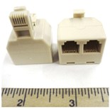 Pan Pacific PT-102-4C 4-Wire Modular Cable Coupler