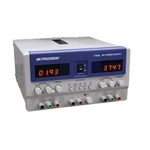 B&K Precision 1760A Triple Output Benchtop Power Supply