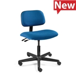 "Bevco 4001-F-3850S/5 Fabric Chair, Articulating Tilt, Nylon Base, HF Casters, Adj. Height 17.5""-22.5"", Westmound Series"