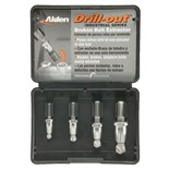 Alden 4017P 4pc Drillout® Broken Bolt Extractor Kit
