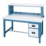 "IAC Industries QS-1006013-D Work Bench with ESD-Safe Top, 36"" D x 72"" L"