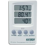 Extech 445702 Thermo-Hygrometer Clock