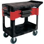 Rubbermaid 6180 Service Cart