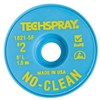 "Techspray 1821-5F No-Clean Desoldering Braid, .055"" x 5'"