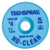 "Techspray 1823-5F No-Clean Desoldering Braid, .098"" x 5'"