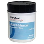"MicroCare MCC-PROW Stencil Presaturated Wipes with ProClean, 8"" x 5"", 100/Canister"