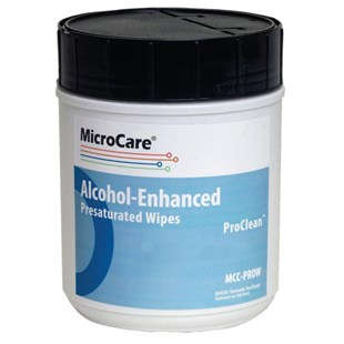 """MicroCare MCC-PROW Stencil Presaturated Wipes with ProClean, 8"""" x 5"""", 100/Canister"""
