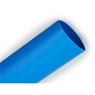 "3M FP301 Heat Shrink Tubing, Blue, 1"", 50' Spool"