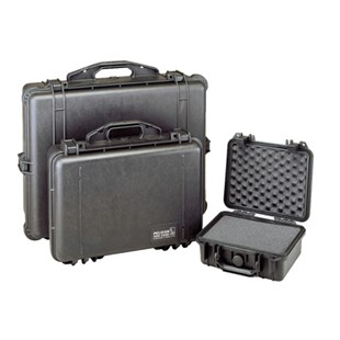 Pelican 1150 All Weather Foam Filled Cases, Black, 8-3/8 x 6 x 3-3/4""