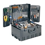 "Jensen Tools JTK-3605 Master Field Service Toolkit w/ 10"" Deep Wheeled Roto Rugged Case- 3600 Series"
