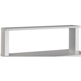 "Lista 601419SL Riser Shelf with Box Supports and Std. Laminate, 60"" L x 14"" D x 19"" H"