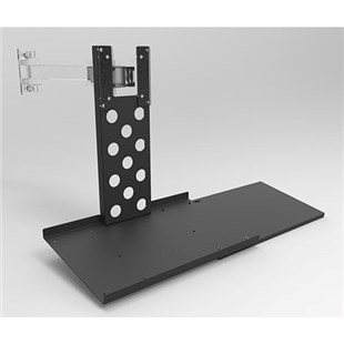 Production Basics 8633 Add-On Keyboard Tray for Flat Screen Monitor