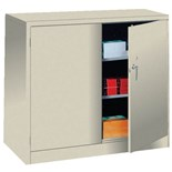 "Lyon 1035 48"" Putty Storage Cabinet, 48"" x 24"" x 42"""