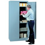 "Lyon 1080 36"" Storage Cabinet Gray"