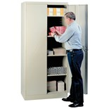 "Lyon 1090 36"" Storage Cabinet Putty"