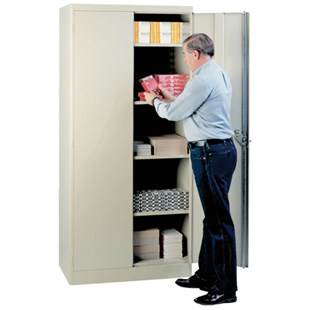 "Lyon 1081 36"" Storage Cabinet Putty"
