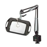"O.C. White 72300 Vision-Lite® Rectangular Magnifier - 43"" Reach - Screw Down Base"