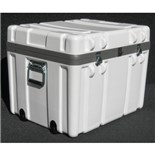 "Jensen Tools 1SW2318-17LF Shipping Case with Built-In Wheels, Foam Lined, 23-1/2x18-1/2x17-1/2"", 25 lbs."
