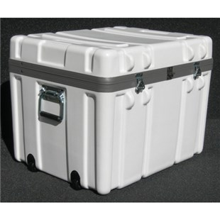 """Jensen Tools 1SW2318-17LF Shipping Case with Built-In Wheels, Foam Lined, 23-1/2x18-1/2x17-1/2"""", 25 lbs."""