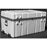 "Jensen Tools 1SW3722-19LF Shipping Case with Built-In Wheels, Foam Lined, 37 x 22 x 19"", 40 lbs."