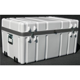 """Jensen Tools 1SW3722-19LF Shipping Case with Built-In Wheels, Foam Lined, 37 x 22 x 19"""", 40 lbs."""