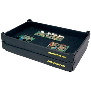 """Protektive Pak 37751 Tek-Tray with Steel Wire Conners, 22-7/8"""" x 17-1/4"""" x 2-3/4"""""""