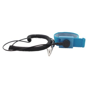 """Techni-Stat 758ST9004 Adjustable Wrist Strap with 6' Cord, 1/4"""" Snap"""