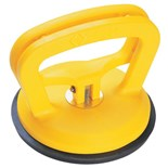 CK Tools T5081 Suction Cup Lifter, single cup, clamp action, capacity 66 lbs. (30 kg)