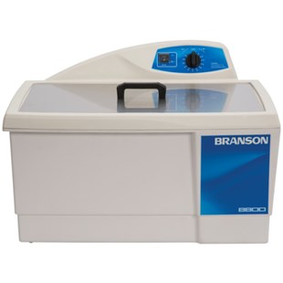 Branson M8800H Ultrasonic Cleaner with Mechanical Timer Plus Heater, 5-1/2 Gallon