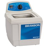 Branson M1800H Ultrasonic Cleaners with Mechanical Timer Plus Heater, 1/2 Gallon