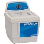 Branson M1800 Ultrasonic Cleaners with Mechanical Timer without Heater, 1/2 Gallon