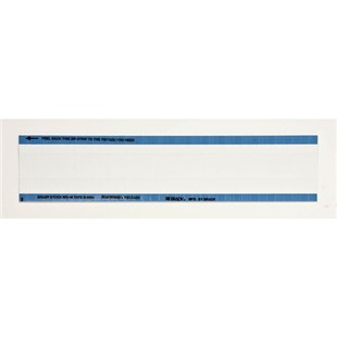 "Brady WO-46 Blank Write-On Calibration Labels, 1.500"" x 0.250"", 36/Card"