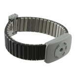 SCS 2385 Dual Conductor Metal Wrist Band Only, Medium