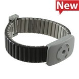 SCS 2387 Dual Conductor Metal Wrist Band Only, XL