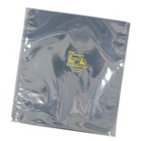 "SCS 1001218 Transparent Metal-In Static Shielding Bag - Open Top (12"" x 18""), 100/Pkg."