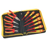 C.K. T3675S VDE Insulated Pliers, SL & PH Screwdrivers 11 pc. Tool Set