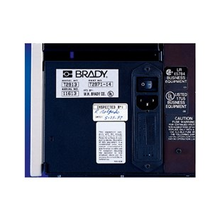 Brady THT-6-428-10 Thermal Transfer Labels, Metalized Polyester, Material 428