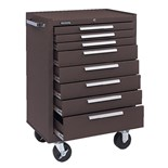 Kennedy 378-00080 BRoWN WRIN 8 Drawer Rolling Tool Cabinet