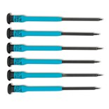 Moody 58-0450 Precision Torx Driver Set, Extended Reach 6/pc.