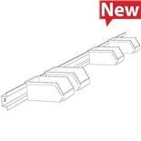 "Production Basics 8306 72"" Bin Rail"