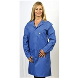 Tech Wear 371ACS ESD-Safe Lab Coat, Royal Blue, Small