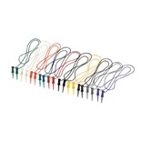 "Pomona 5521 SMD Grabber Test Clip Patch Cord Kit, 24"", 10/pk."