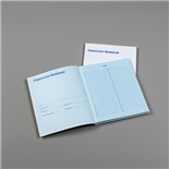 "Texwipe TX5708 Cleanroom Notebook, Blue Paper, 8½"" x 11"", 10/Case"