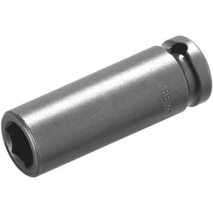 """Apex MB-1211 1/4"""" Square Drive Socket, Extra Long, 6 Point, Hex Opening 11/32, 1-3/4"""" OL"""