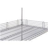 "Metro L24N-4C Wire Shelf Ledge, 24"" x 4"""