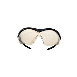 ST110 Safety Glasses Black Frame / Clear Lesns - CREWS STORM